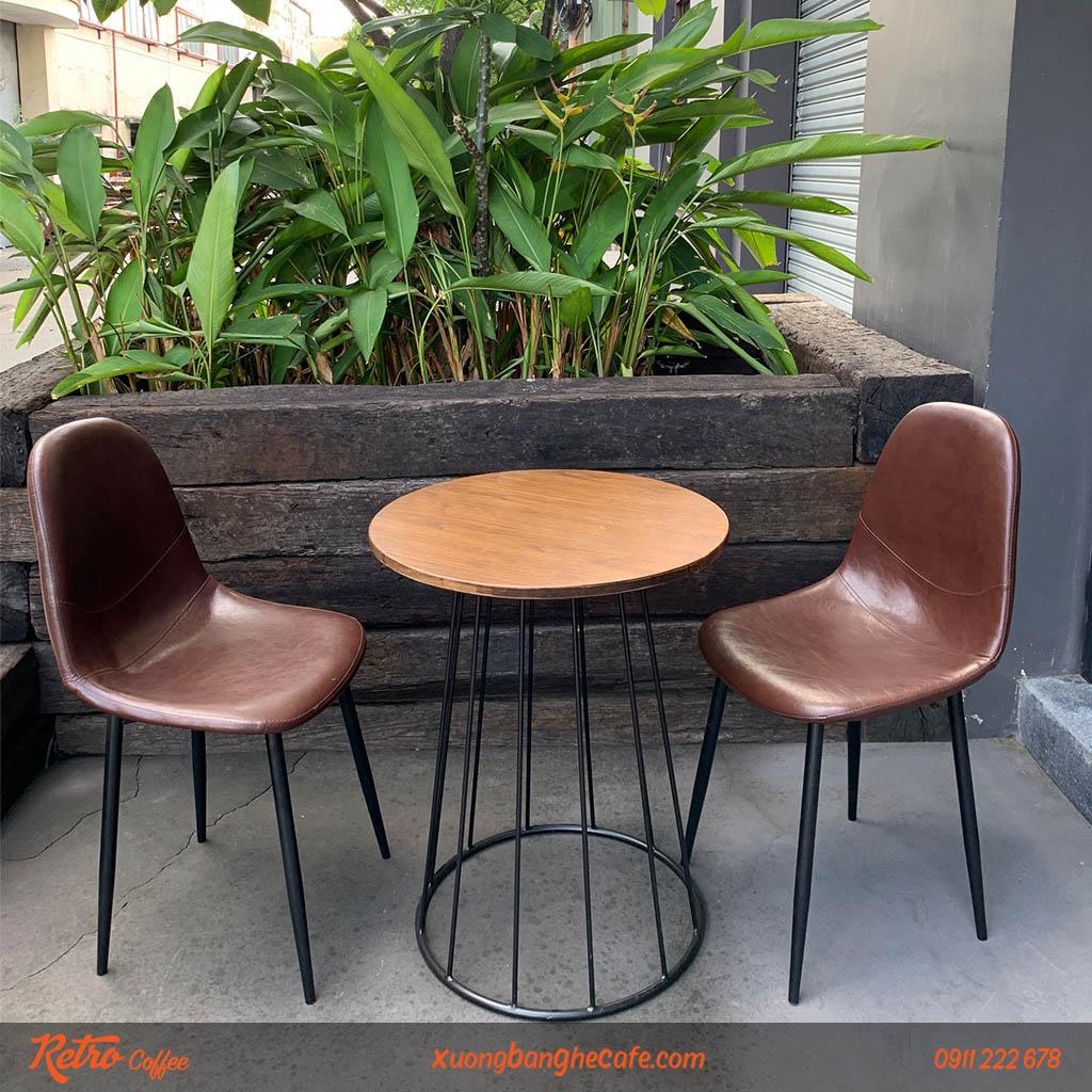 Ghế Milan eames thích hợp sử dụng cho các quán cafe