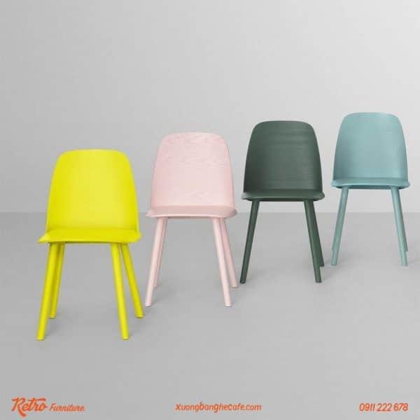 Ghế Muuto Nerd đa dạng màu sắc