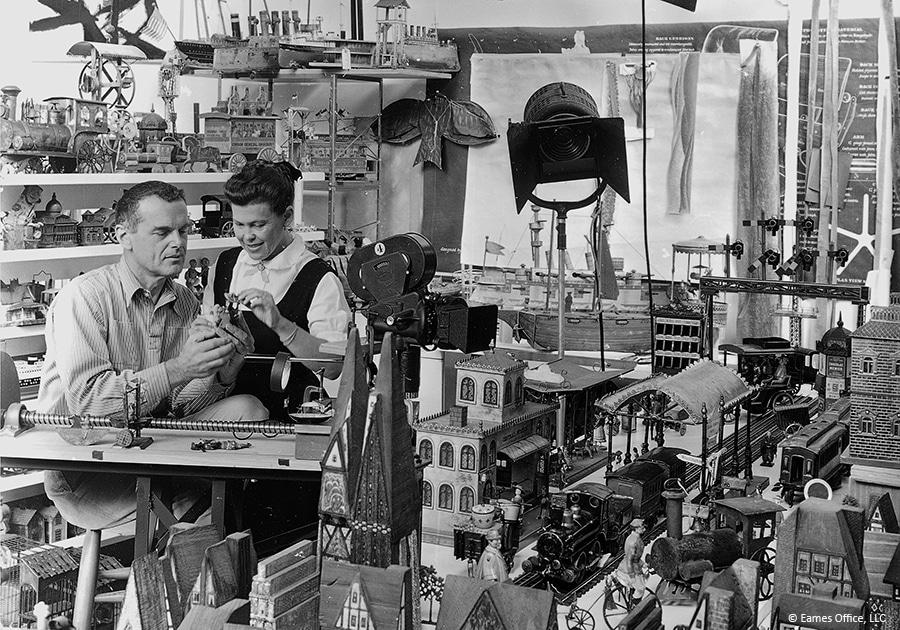Charles và Ray Eames