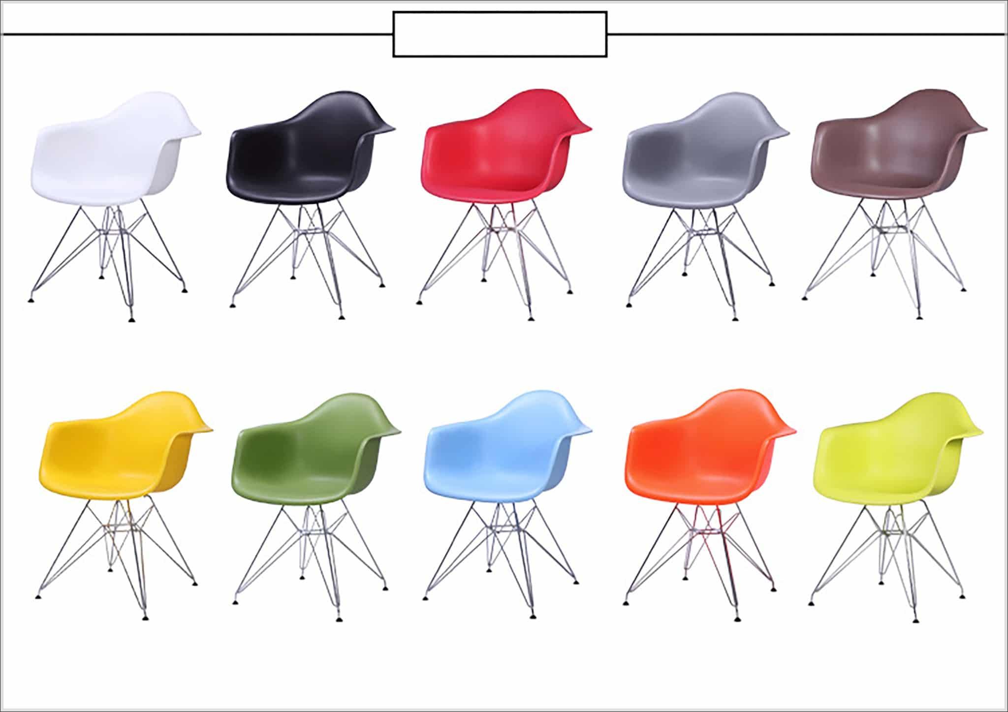 Mẫu ghế eames nhựa có tay