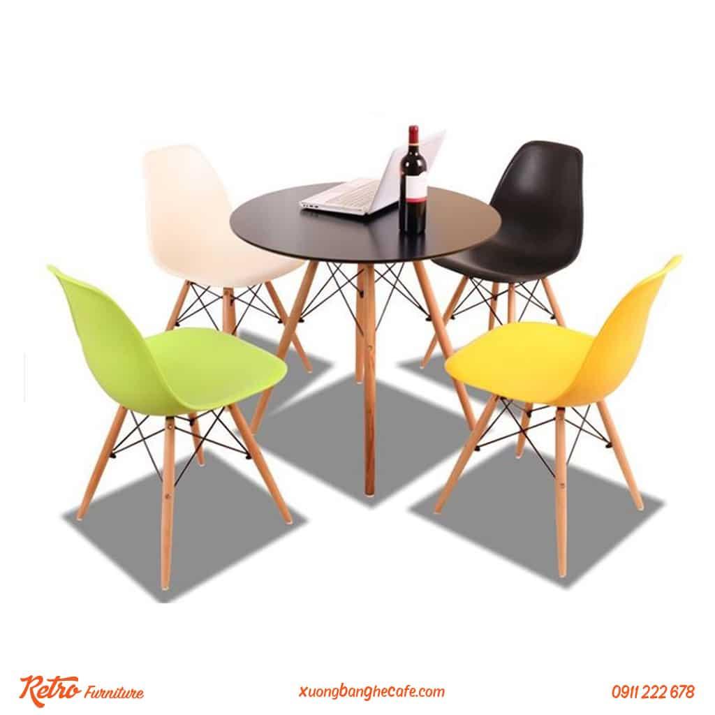 Bàn ghế nhựa cao cấp P01