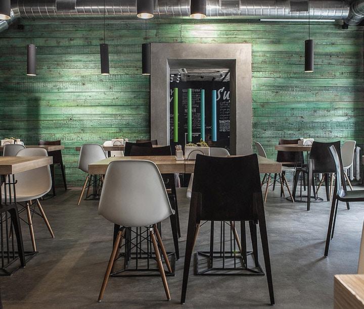 Không gian quán cafe vintage ấn tượng