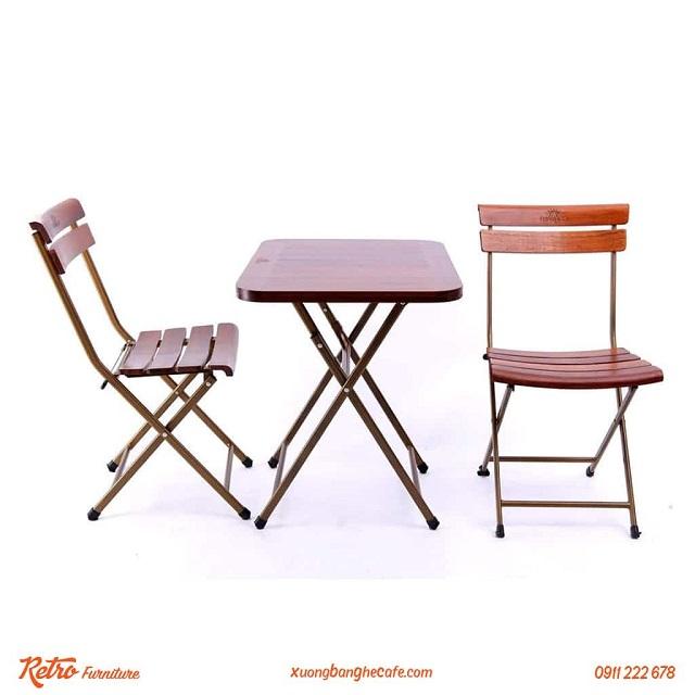 Đừng quên chú ý đến màu sắc sản phẩm khi mua bàn ghế cafe nhé