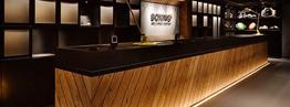 Quầy Bar cafe - Xưởng bàn ghế cafe Retro
